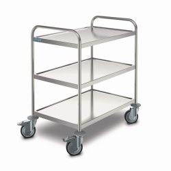 Transport trolley MSW 8 x 5/3, stainless steel Catalogo Exacta Optech