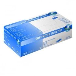 Disposable Gloves Soft Nitril Blue 300, Nitrile, Powder-Free Catalogo Exacta Optech