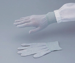 Conductive Gloves ASPURE,  Anti-static, grey, Nylon Catalogo Exacta Optech
