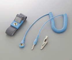 ESD-Wrist straps ASPURE, Polyester, with cord Catalogo Exacta Optech
