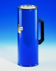 Dewar flasks, cylindrical, with side grip Catalogo Exacta Optech